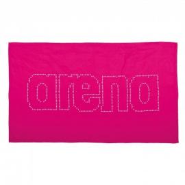 Toalla natación Arena Haiti rosal/blanco