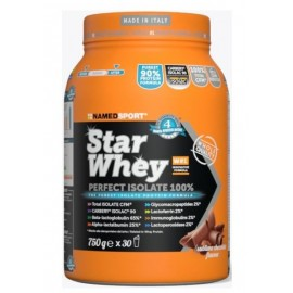 Bote NamedSport Star whey Isolate sublime chocolate 750gr