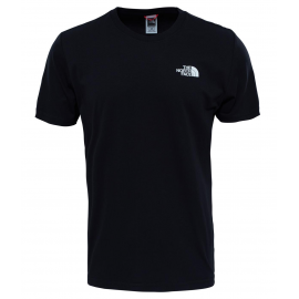Camiseta The North Face SS Redbox Cel negra hombre