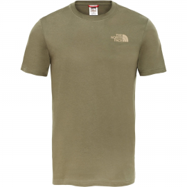 Camiseta The North Face Redbox Cel taupe hombre
