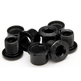 Pack 4 tornillos/tuercas m8x8.5 Race Face negros