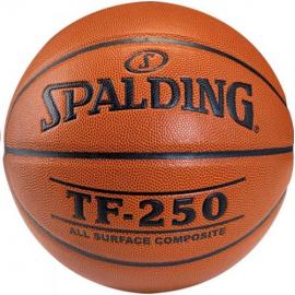 Balon baloncesto Spalding TF250 In/Out talla 7 naranja