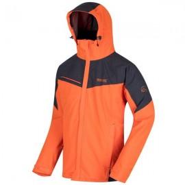 Chaqueta esqui montaña Regatta Sacramento III naranja hombre