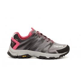 Zapatillas trekking Chiruca Marbella 03 GTX gris/rosa mujer