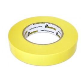 Cinta amarilla para tubelizar 25mm x 66 metros X-Sauce