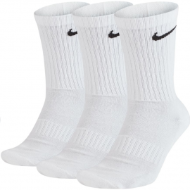 Calcetines Nike Everiday Cushion Crew 3p blanco unisex