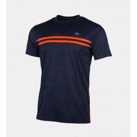 Camisetas tenis/pádel Dunlop Performance Crew azul hombre