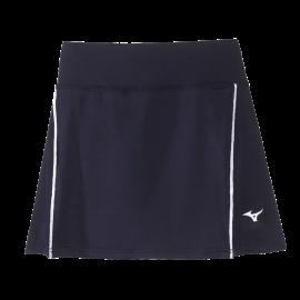 Falda tenis/pádel Mizuno Hex Rect azul/blanco mujer