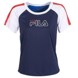 Camiseta Fila Irene Gym Tee azul/blanco/rojo mujer