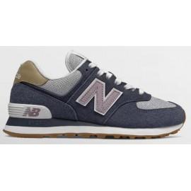 Zapatillas New Balance WL574NVC marino/gris mujer