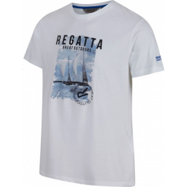 Camiseta outdoor Regatta Cline II blanca hombre