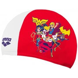 Gorro Natación Arena Polyester Super Hero Heroínas niña