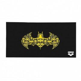 Toalla Arena Super Hero Batman negra/amarilla