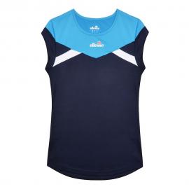 Camiseta tenis/pádel Ellesse Adriana azul mujer