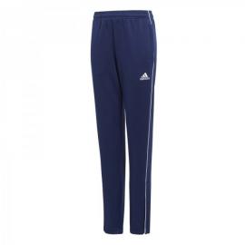 Pantalón adidas Core 18 TR azul/blanco niño