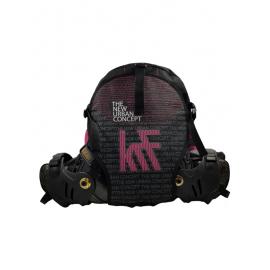 Mochila patines KRF New York negro rosa