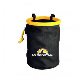 Magnesera La Sportiva Chalk bag negra/amarilla
