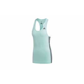 Camiseta tirantes adidas D2M Tank 3S verde mujer