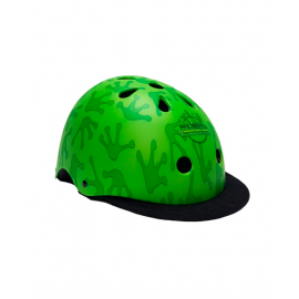 Casco protección Des park city verde frog junior