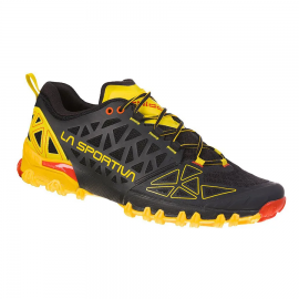 Zapatillas trail La Sportiva Bushido II negro/amarillo hombr