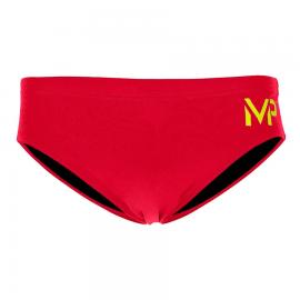 Bañador Entrenamiento Rojo Michael Phelps 8 cm Brief hombre