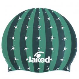 Gorro natación Jaked Cactushead verde