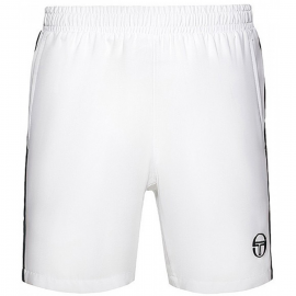 Pantalon tenis/pádel Sergio Tacchini Young Line blanco/azul