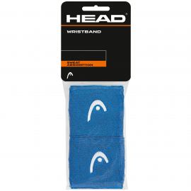 "Muñequera tenis/pádel Head Wristband 2.5"" azul"