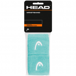 "Muñequera tenis/pádel Head Wristband 2.5"" celeste"