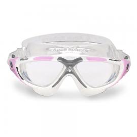 Gafas Natación Mujer Aquasphere Vista Rosa/Transparente