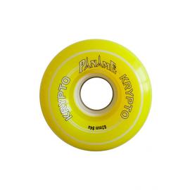 Rueda Patines Kryptonics Paname 62/84 amarilla unidad