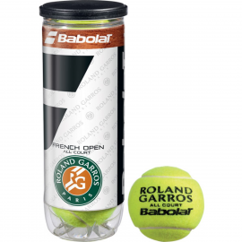 Pelota tenis Babolat French Open All Court X3