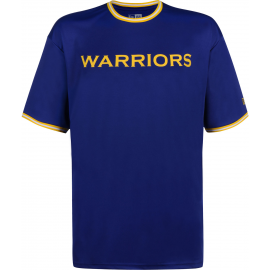 Camiseta New Era NBA Tipping Wordmark Warriors azul hombre