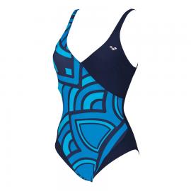 Bañador Entrenamiento Mujer Arena Jade U Azul