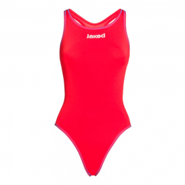 Bañador Entrenamiento Mujer Jaked Milano Rojo