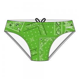 Bañador Niño Jaked Slip Briefs Bandanas verde