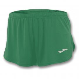 Pantalón corto running Joma Record verde hombre