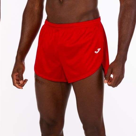 6ccd45553 Pantalón corto running Joma Record rojo hombre