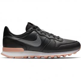 a3f09fd00 Zapatillas Nike Internationalist Premium negro/plata mujer