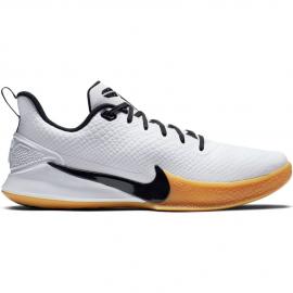 Zapatillas baloncesto Nike Mamba Focus blanca/negra hombre