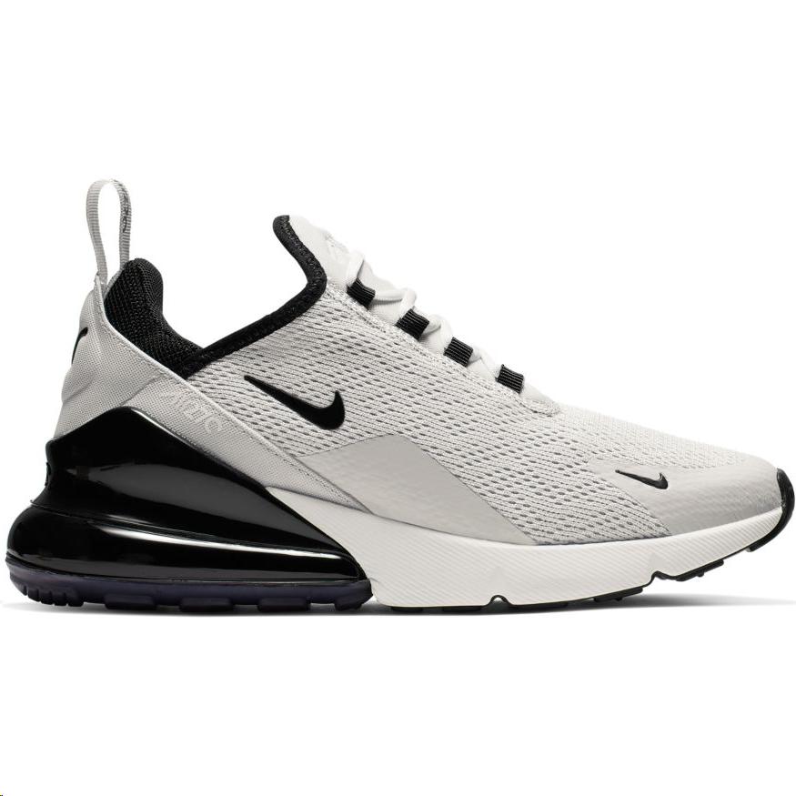 Zapatillas Nike Air Max 270 gris y negra mujer - Deportes Moya