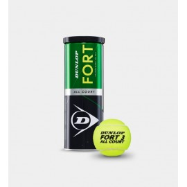 Pelotas tenis Dunlop Fort All Court TS 3TIN unidad