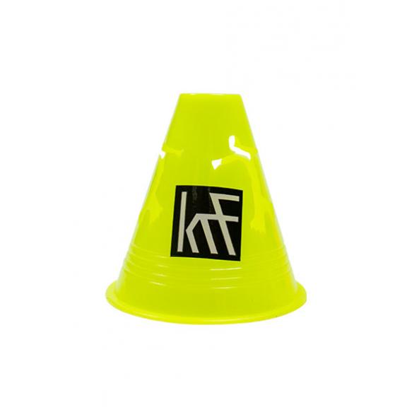 Des Krf com. conos patinador 10 unidades amarillo neon