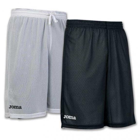 Pantalón Joma Junior Rookie reversible negro/blanco