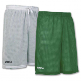 Pantalón Joma Rookie reversible verde/blanco junior