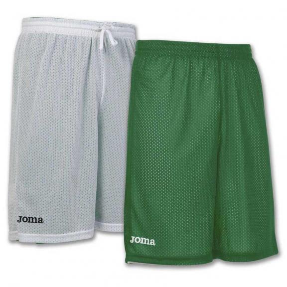 Pantalón Joma Rookie reversible verde/blanco junior