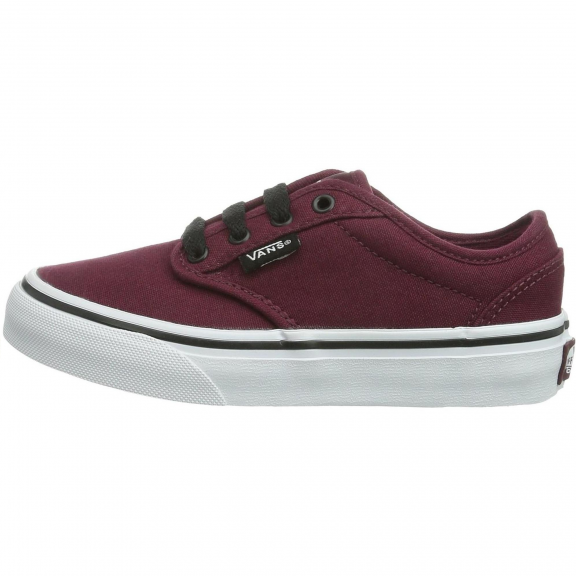 54be07c52 Zapatillas Vans Atwood (Canvas) Burdeos Junior - Deportes Moya
