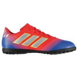 Zapatillas fútbol adidas Nemeziz Messi 18.4 azul/rojo hombre