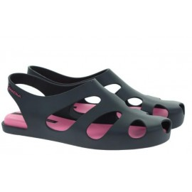 Sandalia Ipanema Premium Concept negra/rosa mujer