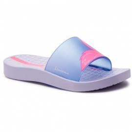 Chancla Ipanema Urban Slide violeta/azul niña